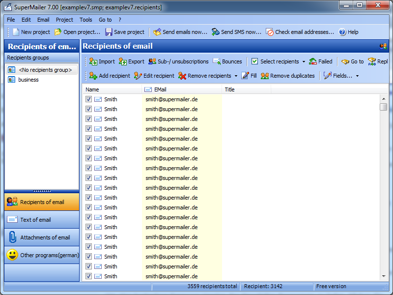 email creator software